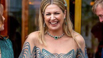 Maxima des Pays-Bas : de toute beauté et en famille pour ses 50 ans