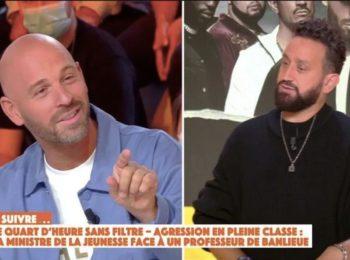 Franck Gastambide est-il encore en couple avec Sabrina Ouazani ? Sa réponse embarrasse Cyril Hanouna