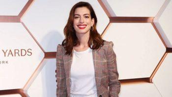 Anne Hathaway : ce que le confinement a changé dans sa façon d'éduquer ses enfants