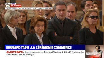 Bernard Tapie : les femmes de sa vie derrière son cercueil, cette déchirante image de ses obsèques à Marseille