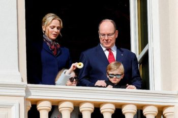 Charlène de Monaco partage une rare photo de famille avec ses enfants Jacques et Gabriella
