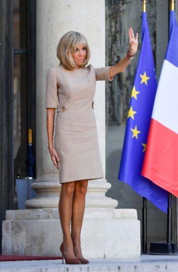 Brigitte Macron revendique ses tenues courtes !