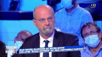 Face à Cyril Hanouna sur le plateau de TPMP, Jean-Michel Blanquer évoque sa relation particulière avec Brigitte Macron