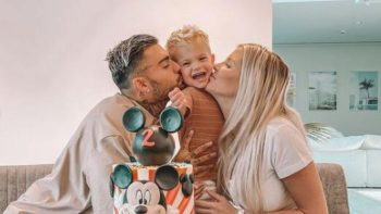 Gâteau de rêve et pléthore de cadeaux ! Jessica Thivenin et Thibault Garcia fêtent les deux ans de leur fils
