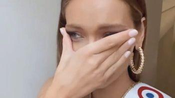 Miss Univers : Amandine Petit fond en larmes et fait une annonce surprise