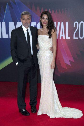 """George Clooney """"honteux"""" : Ce film qu'il ne veut ABSOLUMENT PAS que sa femme à Amal et ses enfants voient..."""