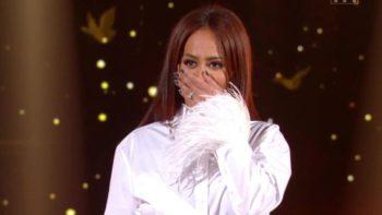 Amel Bent : la chanteuse fond en larmes en découvrant sa petite soeur, May, dans les Duos mystères
