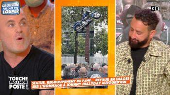 """""""Je trouve ça très moche"""" : l'avis tranché du photographe de Johnny Hallyday sur sa statue"""
