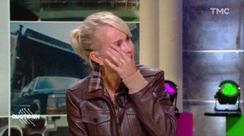 Laeticia Hallyday fond en larmes face à Yann Barthès en revoyant le visage de Johnny