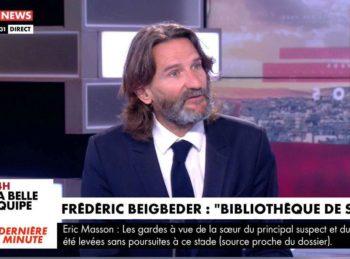 """Frédéric Beigbeder apporte de la vodka à Pascal Praud et révèle vivre un """"cauchemar""""..."""
