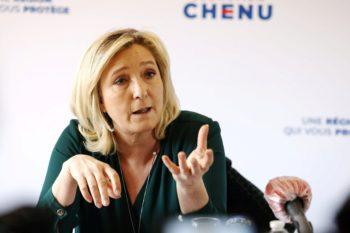 """Marine Le Pen accuse Éric Dupond-Moretti de """"harcèlement"""""""