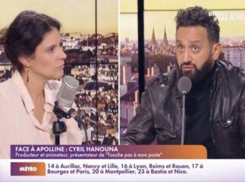 """Cyril Hanouna recadre Apolline de Malherbe après son allusion sur Hitler : """"Ça n'a rien à voir !"""""""