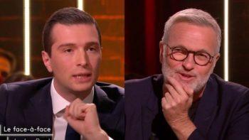 On est en direct : le ton monte entre Jordan Bardella et Laurent Ruquier autour d'une question sur l'immigration