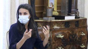 Letizia d'Espagne : ce look cuir détonant pour sa soirée en famille à l'opéra