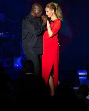 Adriana Karembeu : ce corps-à-corps très HOT avec le chanteur Seal, ex d'Heidi Klum