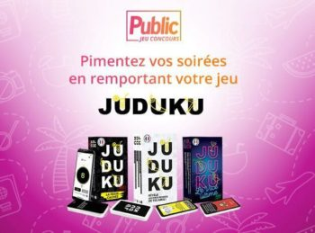 Jeu Concours : Tentez de remporter votre jeu de société JUDUKU