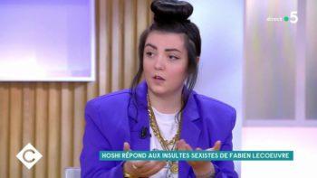 Hoshi blessée : la chanteuse répond aux insultes de Fabien Lecoeuvre dans C à Vous