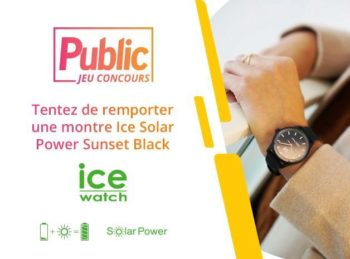 """Jeu Concours : jouez et tentez de remporter une montre """"Solar Power"""" de la marque Ice-Watch !"""
