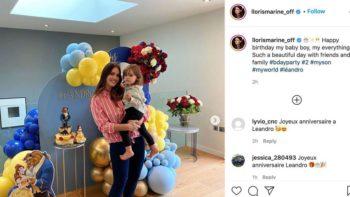 Marine Lloris maman comblée : pour les deux ans de son fils Leandro, elle n'a pas lésiné sur les moyens