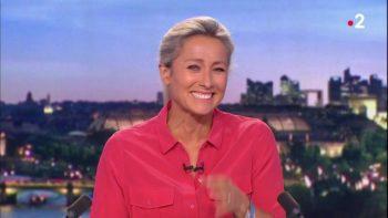Anne Sophie Lapix en fou rire incontrôlable : la journaliste peine à se ressaisir en plein direct