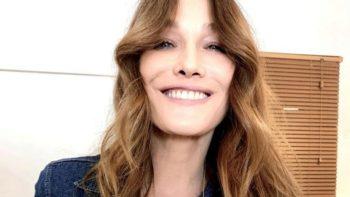Carla Bruni dévoile le visage de sa fille Giulia, qui fait une adorable confidence