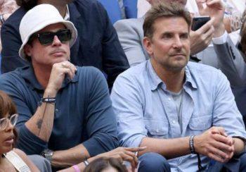 Brad Pitt et Bradley Cooper : les amis réunis pour la finale de l'US Open de tennis